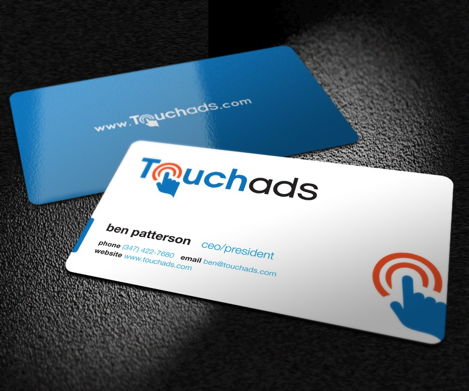 New Business Cards Needed for Touchads.com!
