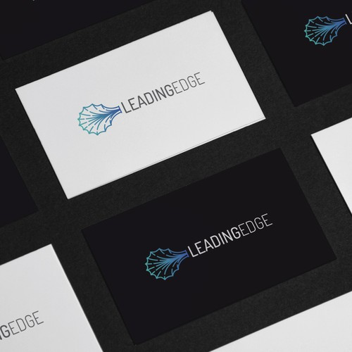 Modern logo for Leading Edge