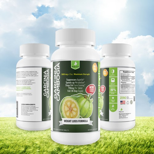Design The Look and Feel of a Supplement Label For a New Brand! Purity Health