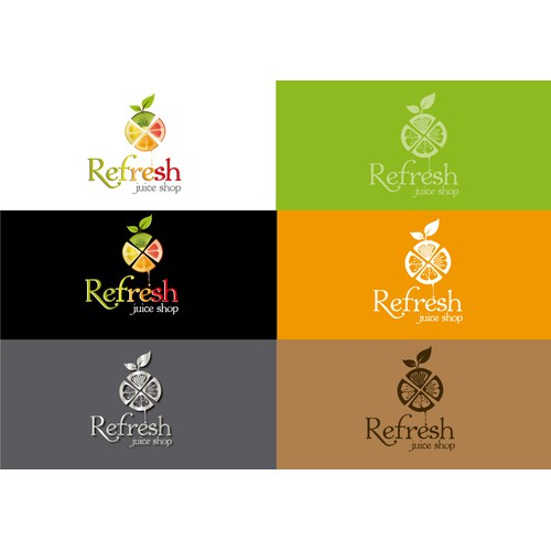Create a logo for a Juice shop which will lead to 1 - 1 project for the packing and Menu