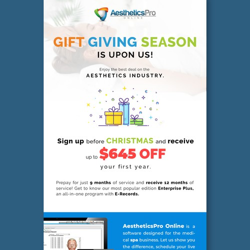 2018 Holiday Eblast Promo Offer