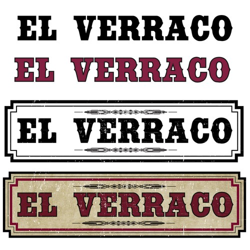 Logo for El Verraco hot sauce!