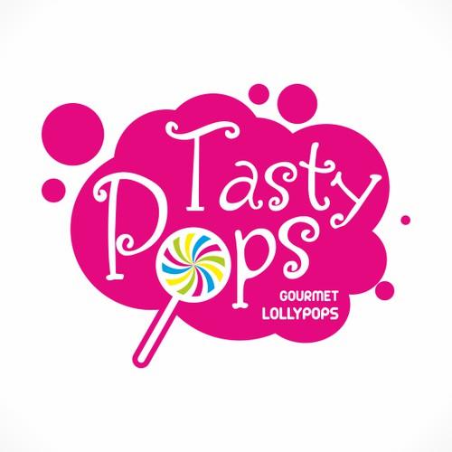 New logo for Tasty Pops