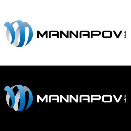 Create the next logo for Mannapov LLC
