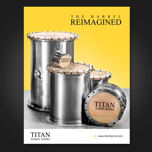 Wine barrel booklet cover