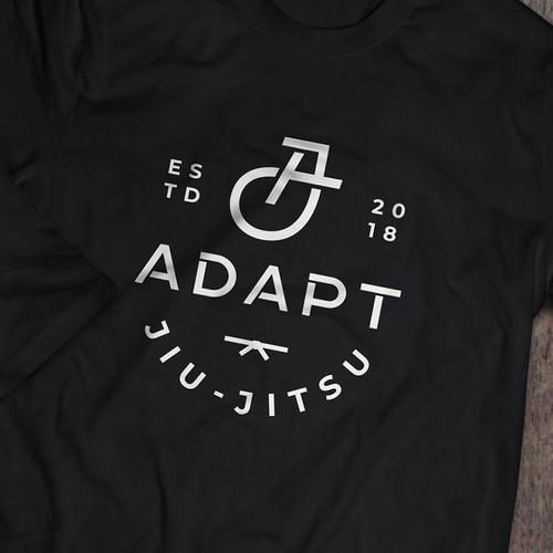 AJ monogram for ADAPT JIU_JITSU
