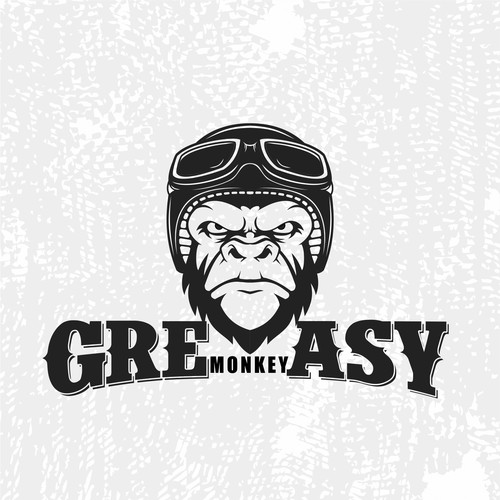 logo concept for Greasy Monkey