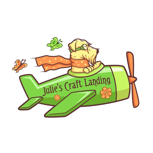 Julie`s Craft Landing logo