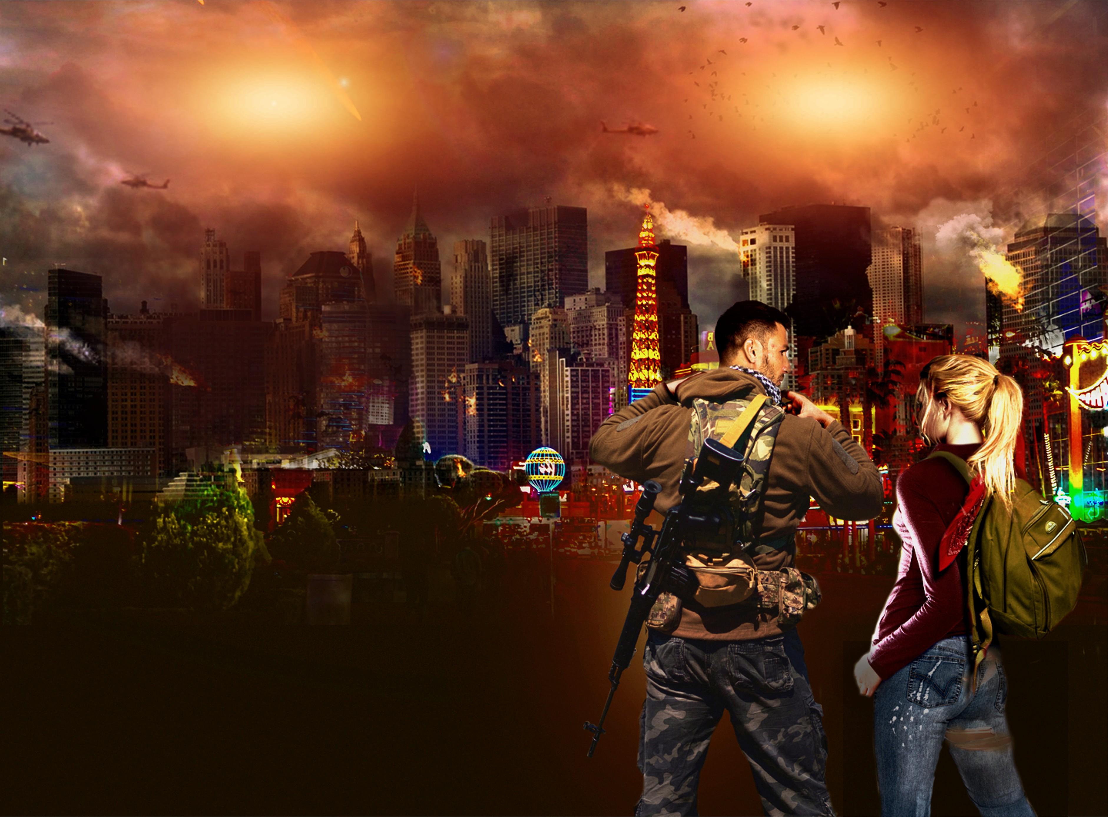 Post-Apocalyptic Las Vegas Book Cover