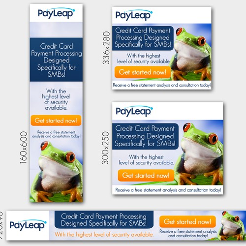 Banner Ads Needed for PayLeap
