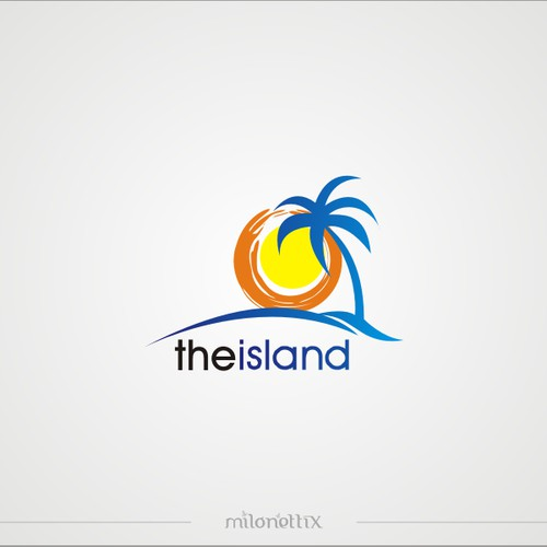 Logo for The Island