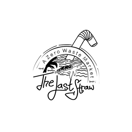logo for the last straw