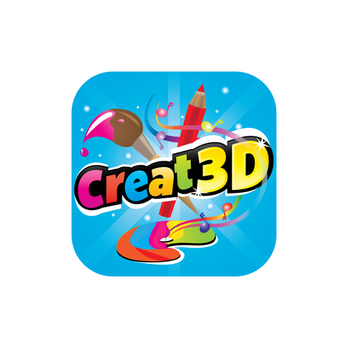 Create the next logo for Creat3D