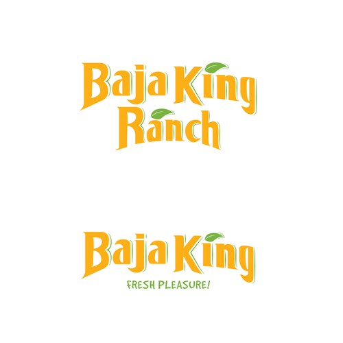 Baja King Farms logo for a exporting company