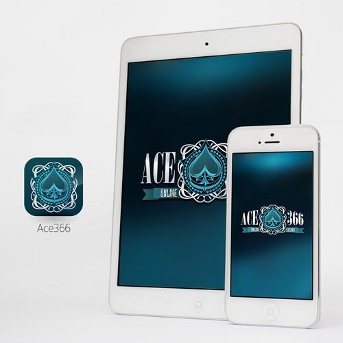 Online Casino logo and app icon