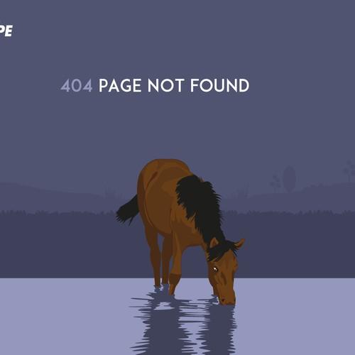 Equipe error page
