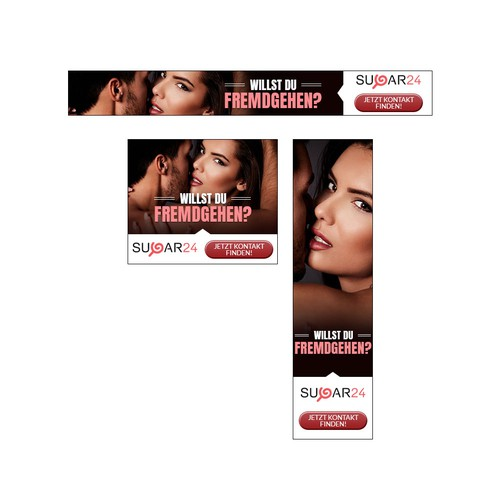 Banner-Set for Casual-Dating