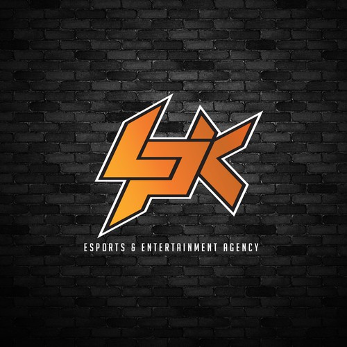 Edgy logo concept for LPK agency