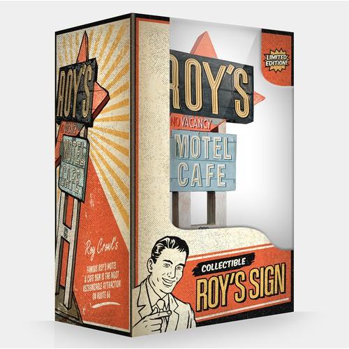 Merchandise Packaging Design Concept