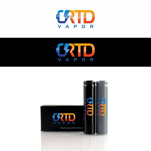 logo concept for RTD vapor