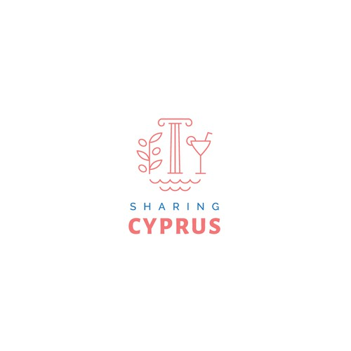 Logo proposition for party provider located in Cyprus