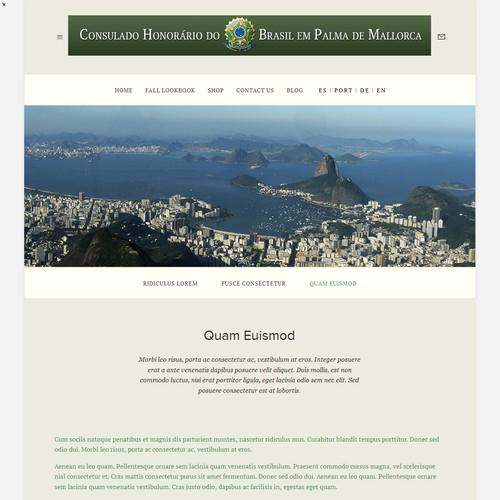 Webseite des Brasilianischen Honorarkonsulates