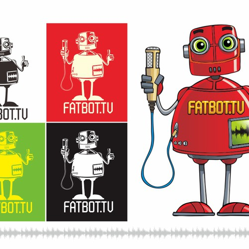 Help Fatbot.tv with a new illustration