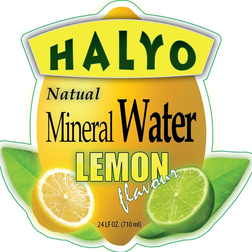 product label for Halyo