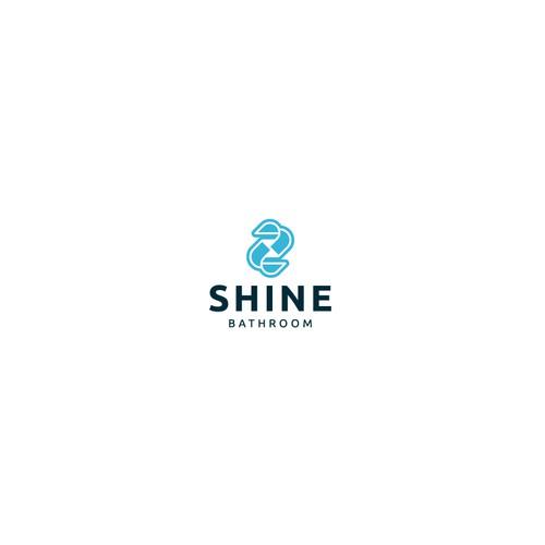Shine Bathroom Logo Design