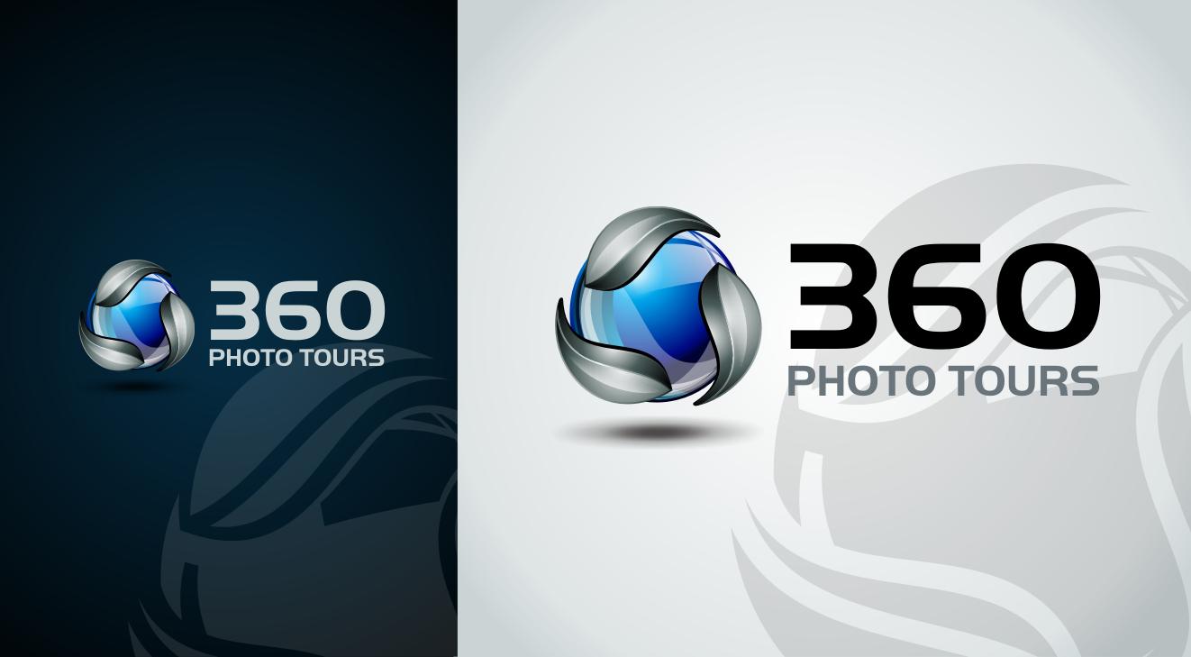 Create the next logo for 360 Photo Tours