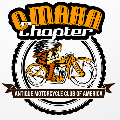 Create an Antique Motorcycle Club Logo