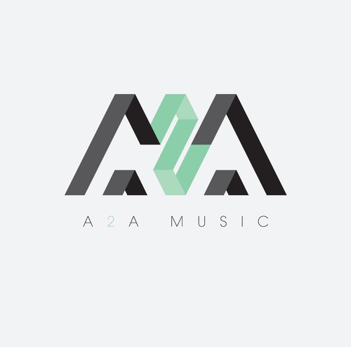 Logo for music production company