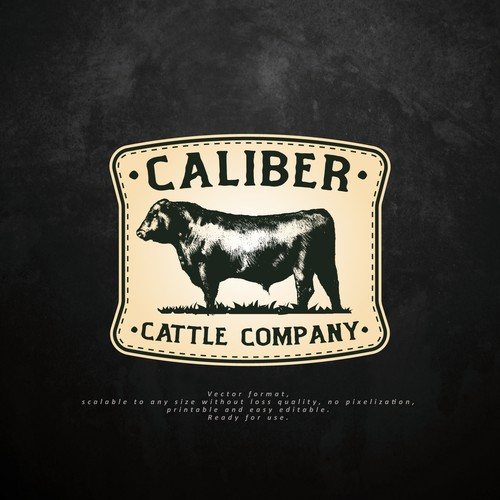 Logo for Caliber Cattle Company