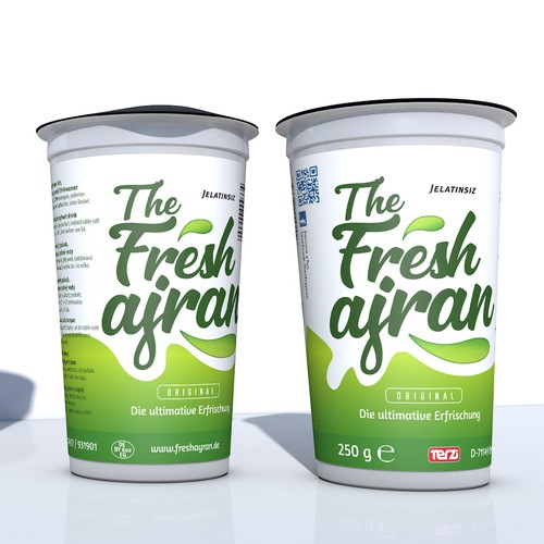 Fresh milk cream - Ajran