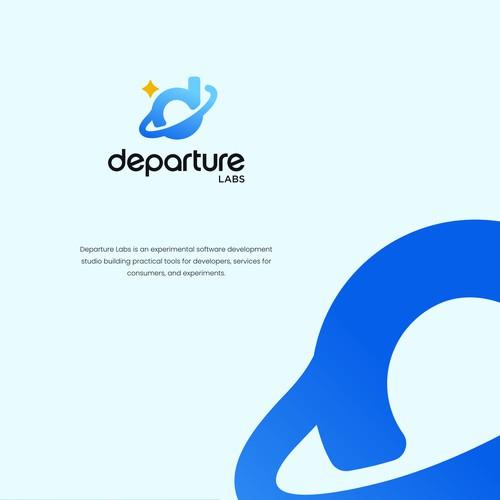 D space logo
