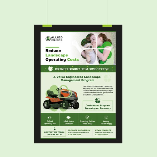 Flyer Design for a Landscaping Company