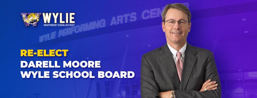 Darrell Moore for School Board Facebook Cover