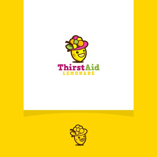A concept logo for fruits products