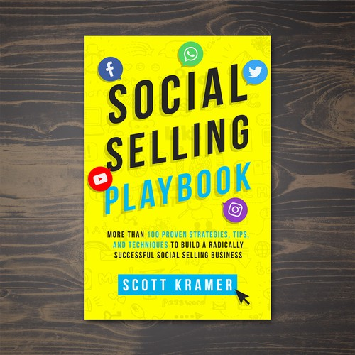 Book cover for Social Selling book