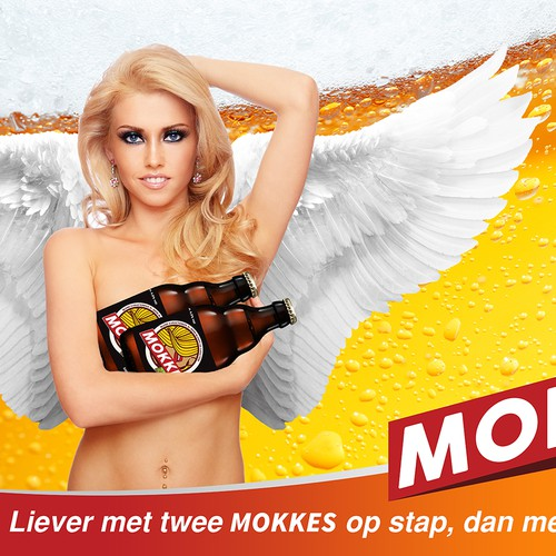 Poster Design for MOKKE bier