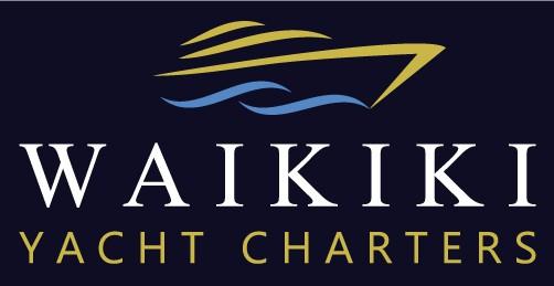 Waikiki Yacht Charters logo design