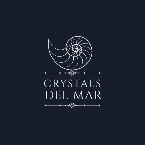 CRYSTALS DEL MAR LOGO