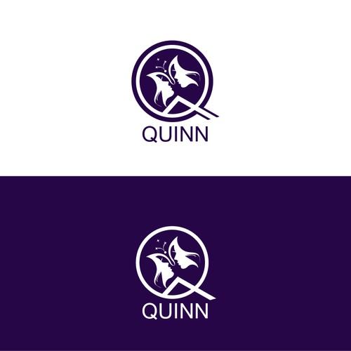 illustrative logo concept for quinn