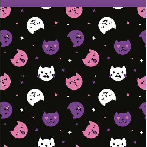 KinkRebel seamless pattern design for socks