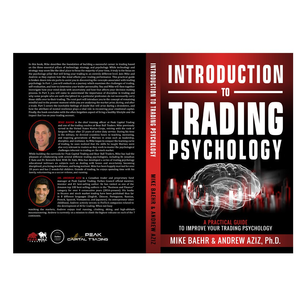 Book Cover Design for Trading Psychology