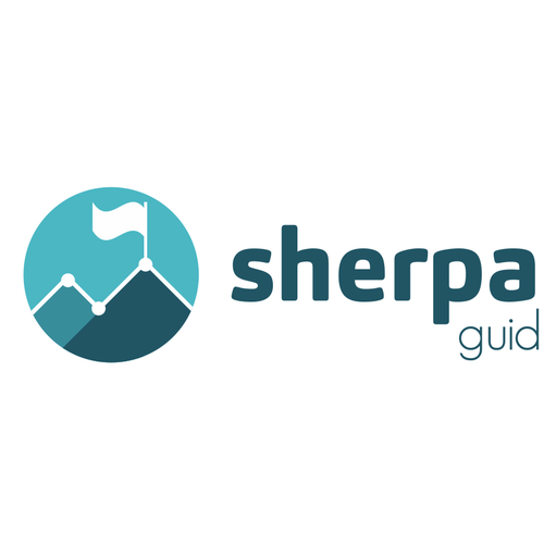 Logo design for sherpa metrics