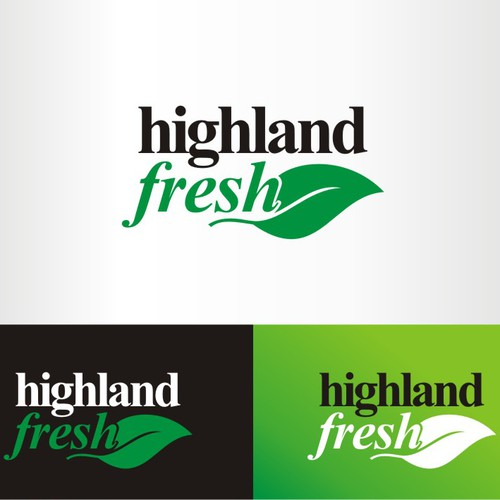 A FRESH & TASTY Product Logo to Help Disadvantaged Farmers