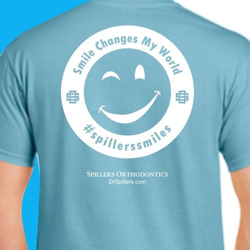 tshirt design concept for spillers