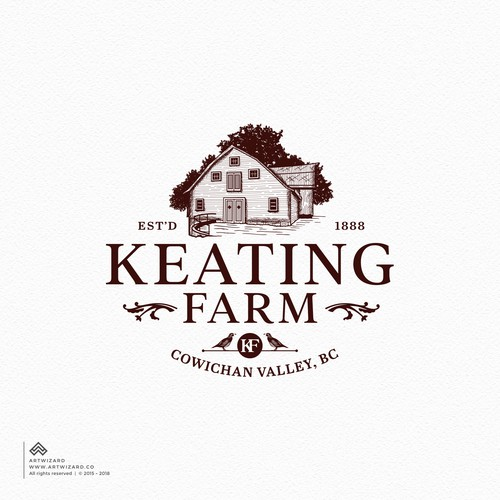 Logo & Brand Identity for a Heritage Farm/Agritourism Estate