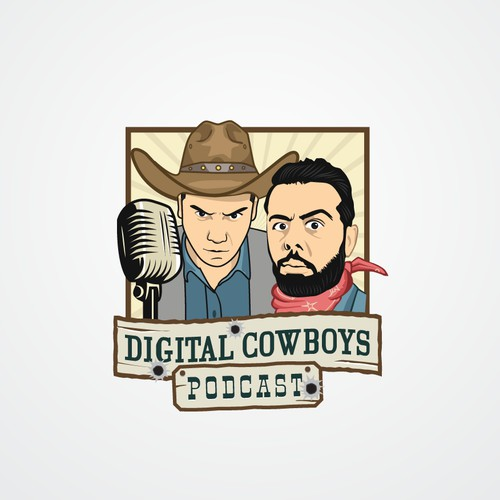 Logo for digital cowboys